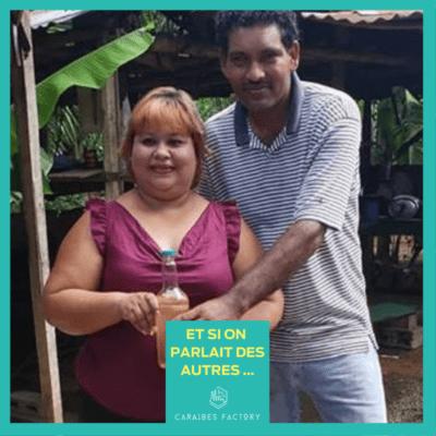 Elsie et Jeffrey Ellis produisent de l'huile de coco