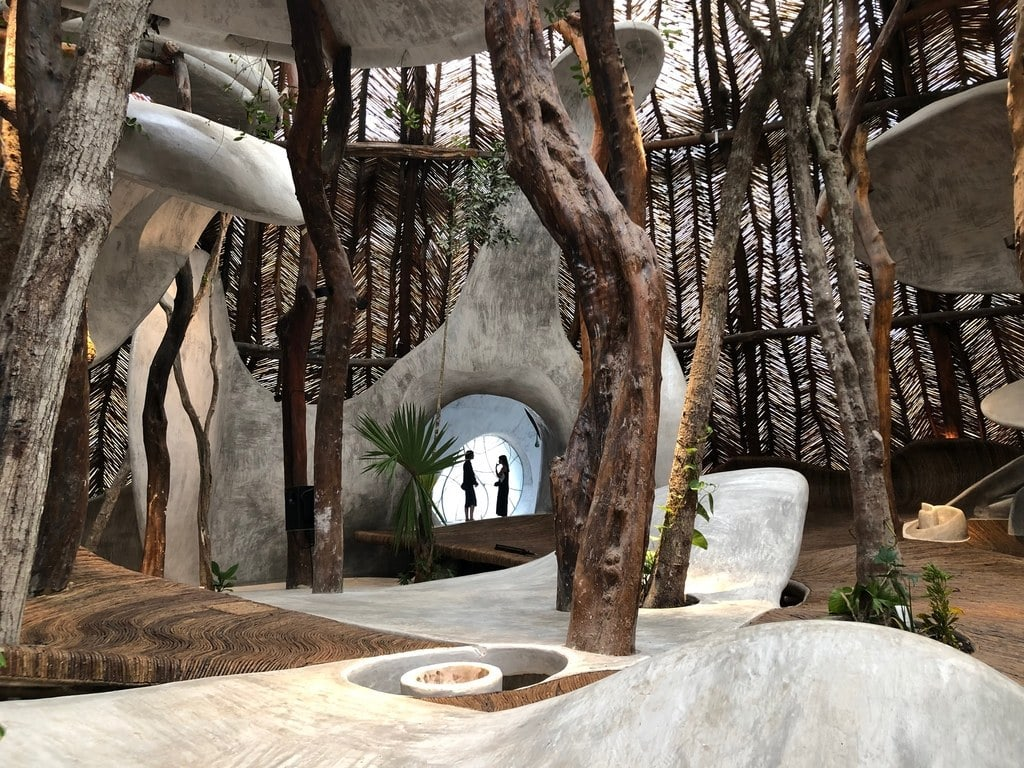 De l'art contemporain dans la forêt tropicale mexicaine