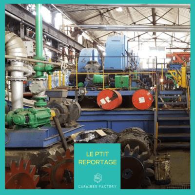 Le Galion, seule usine sucrière en Martinique