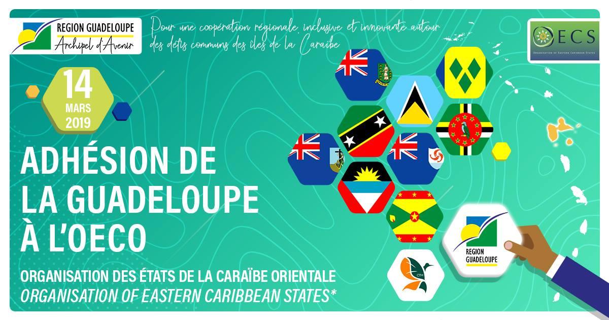 La Guadeloupe membre associée de l' OECO